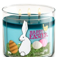 3-Wick Candle Sugared Candy Bunny