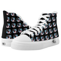 Transgender Panda LGBT Pride Printed Shoes