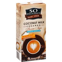 So Delicious Dairy Free French Vanilla Barista-Style Coconut Milk Creamer, 32 fl oz - Walmart.com