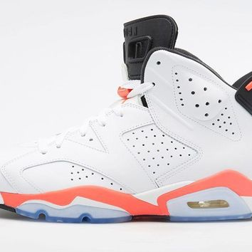 Air Jordan Retro 6 'White Infrared'