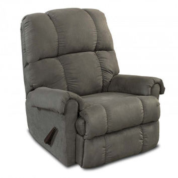 Dark Gray Recliner Chair   Factory Select Graphite Recliner   American Freight
