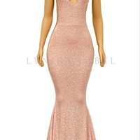 The 'HAILEY' GLITZ GOWN- Available in 2 colors