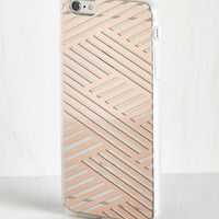 Shine on the Line iPhone 6/6S Case in Copper | Mod Retro Vintage Wallets | ModCloth.com