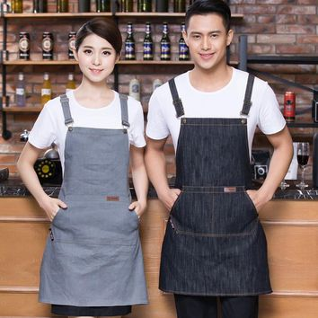 Men + Women Denim Apron
