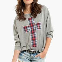 Search 'PIous plaid sweater'