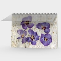 Purple Hibiscus Butterfly - Sketch Book