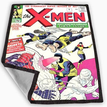 X-Men Comic Cover Design Blanket for Kids Blanket, Fleece Blanket Cute and Awesome Blanket for your bedding, Blanket fleece *