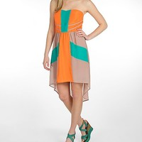 Flying Tomato Color Block Dress