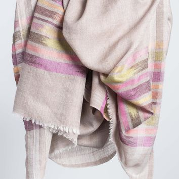 Handwoven Spring Scarf