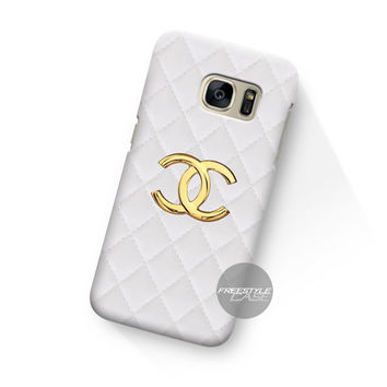 Art Work Chanel Hulle White  Samsung Galaxy Case Cover Series