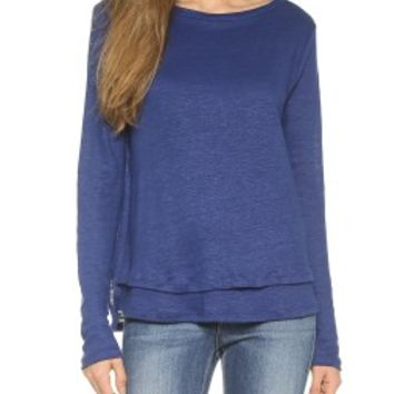 Layered Boat Neck Top