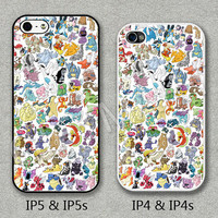 Please Choose Case Model, iPhone 4 Case, iPhone 4S Case, iPhone 5 Case, iPhone 5S Case, Cover for iphone, All Pokemon