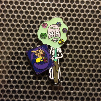 Rick Ross V2 rick and morty hat pin