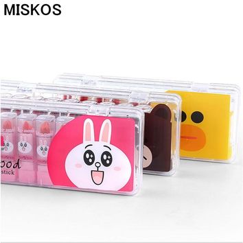 MisKos Kit Lip Stick Set 10pcs Makeup Mini Lipstick Palette Matte Batom Set Mate Batom Red Blam Lasting Lip Kit Maquillage