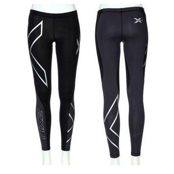 2016 Women's Fashion 2XU Professional Lycra Pants/ Trousers Compression Speed Dry Nylon Stretch Fitness Pants 4 Colors [8833480460]