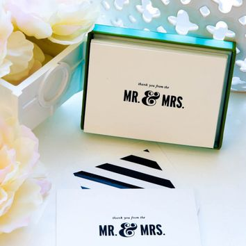 Kate Spade New York Thanks From The Mr. & Mrs. Card Set