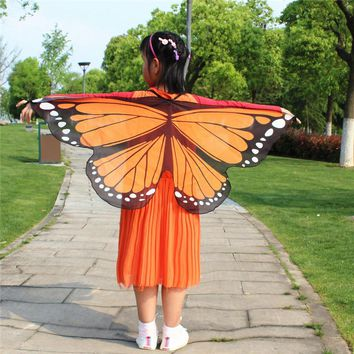 Butterfly Fairy Wings for Girls Boys Fancy Dress Dressing Up Pretend Play