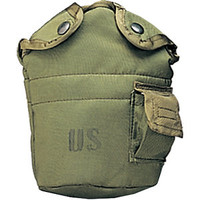 Olive Drab Genuine GI US Military Canteen Cover