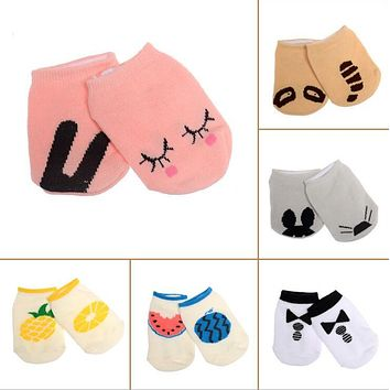 Baby socks floor boys girls kids Children animal infant cartoon cotton Anti-skid Slip toddlers slippers newborn cheap stuff