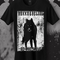Be the wolf. Bokko and Belial. Gothic online store. Men shirts.