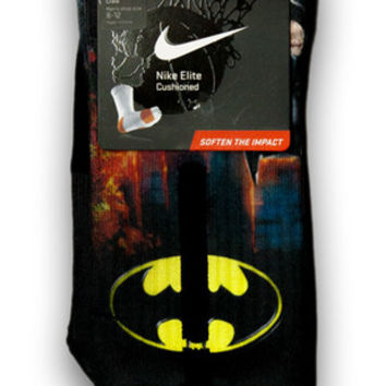 Batman Custom Elite Socks | CustomizeEliteSocks.com™