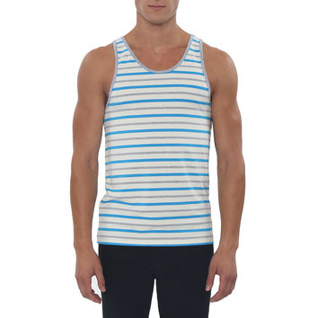 Multi Striped Grenoble Tank Top