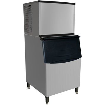 Commercial Modular Ice Maker 420 lb. with Bin Storage