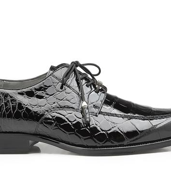 "Belvedere ""Lorenzo"" Genuine Alligator Lace-up Shoe"