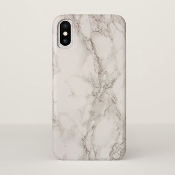 Marble Stone Case-Mate Barely There iPhone X Case