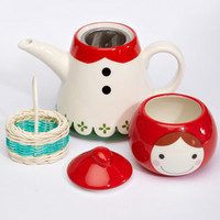 Little Red Riding Hood Tea Pot