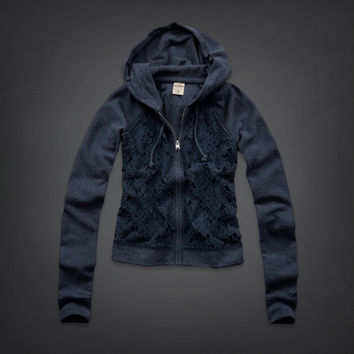 Redondo Lace Front Hoodie