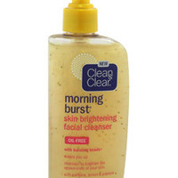 morning burst skin brightening facial cleanser by clean & clear 8 oz
