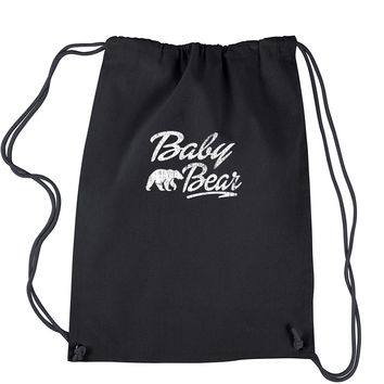 Baby Bear Cub Drawstring Backpack