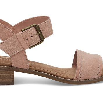 BLOOM SUEDE WOMEN'S CAMILIA SANDALS