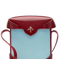 Mini Pristine Leather Shoulder Bag - Manu Atelier | WOMEN | US STYLEBOP.COM