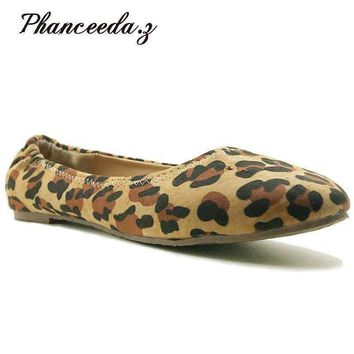 Women Flats Top Quality Flat Shoes Style Loafers Round Toe Casual Shoes Plus Size 7 10