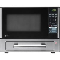 LG - 1.1 Cu. Ft. Mid-Size Microwave - Stainless Steel