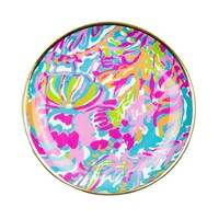Ceramic Coaster Set in Scuba to Cuba! by Lilly Pulitzer