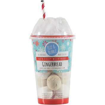 Limited Edition Gingerbread Milkshake Bath Fizzy