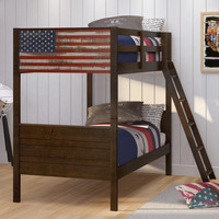 Americana Twin over Twin Bunk Bed