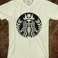 STARBUCKS SKULL DESIGN