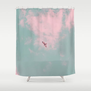 Free Will Shower Curtain by 83oranges.com