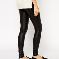 ASOS Leather Look Leggings at asos.com