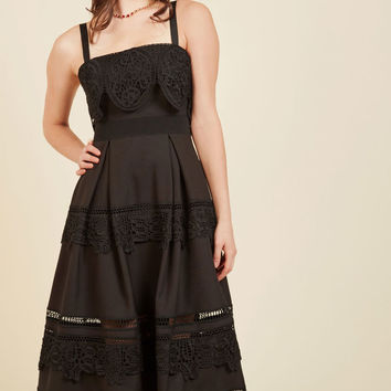 Immeasurable Magnificence Midi Dress