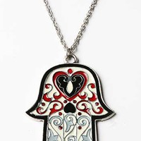 Hamsa Hand Necklace | Cute Accessories at Pink Ice