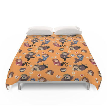 Society6 Game Grumps Pattern Duvet Cover