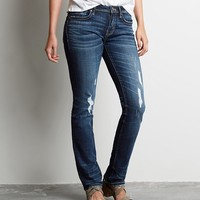 BUCKLE BLACK FIT NO. 76 STRAIGHT STRETCH JEAN