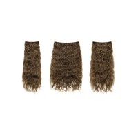 Chestnut Clip In Curly Hair Extension 3pcs