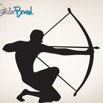 Vinyl Wall Decal Sticker Archery Arrow #787