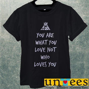 Low Price Men's Adult T-Shirt - Fall Out Boy Quote design